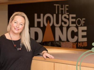 Sharkra Ambassador, Michelle Williams of The House of Dance.